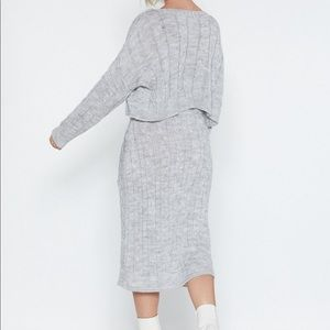 Nasty Gal Sweaters - Nasty Gal Sweater and Skirt Set